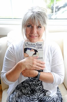Local writer Rachel Wallace-Oberle has seen her work published in many reputable outlets, now as part of Chicken Soup for the Soul: Inspiration for Writers she joins many other wordsmiths in sharing words of wisdom with aspiring writers.  [elena maystruk / the observer]