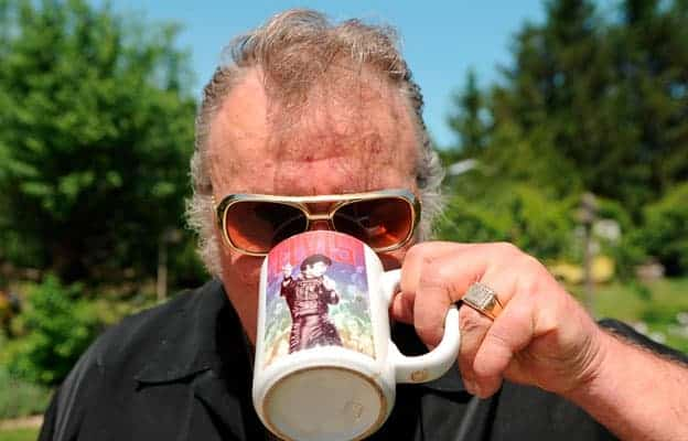 Elvis tribute artist and Wellesley councillor Herb Neher is all shook up in anticipation of his sixth annual celebration of singer soundalikes.[will sloan / the observer]