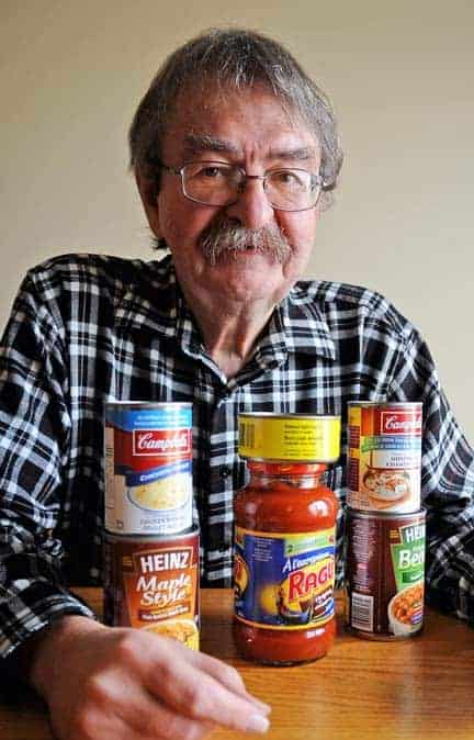 Kiwanis Club member Fred Karpala is one of 200 volunteers who will collect food donations from township residents on November 23.[Will Sloan / The Observer]