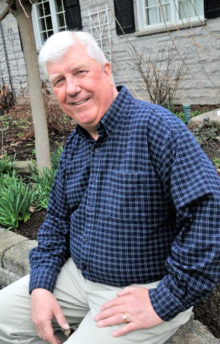 Bloomingdale resident Larry Shantz is the newest addition to the election race in Woolwich.[Elena Maystruk / The Observer]