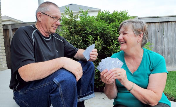The house, the car, the kids and grandkids; income stability is still a gamble for residents like Wayne and Marilyn Curry who need to stay in the workforce longer. When it comes to retirement, they're not sure what the cards hold.
