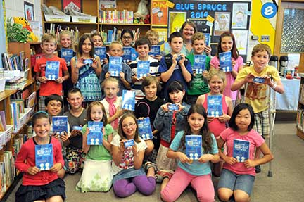 Breslau PS students are excited to share the new Chit-Chat-Chatter book with their friends and family.